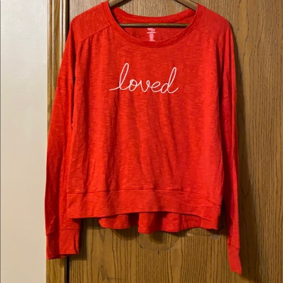 "Secret Treasures ""loved"" Top, 2X"